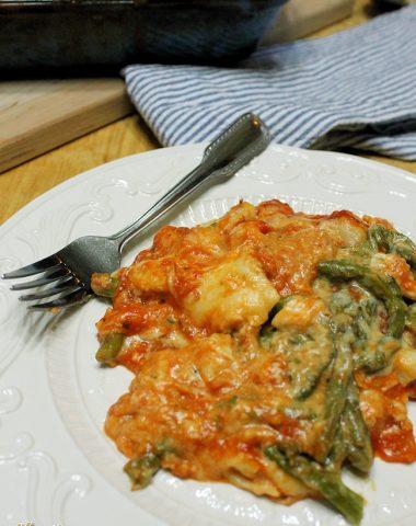 chicken asparagus lasagna