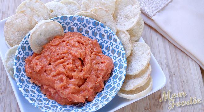 Roasted Red Pepper Bean Dip Recipe