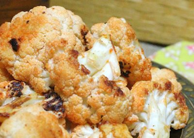 Buffalo Roasted Cauliflower Recipe