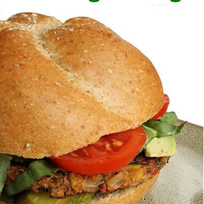 homemade vegan burger recipe
