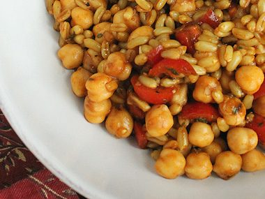 kamut & chick pea salad feature