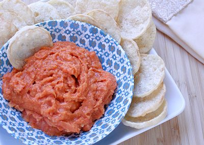 Roasted Red Pepper Bean Dip: Easy Recipe