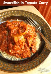 swordfish tomato-curry