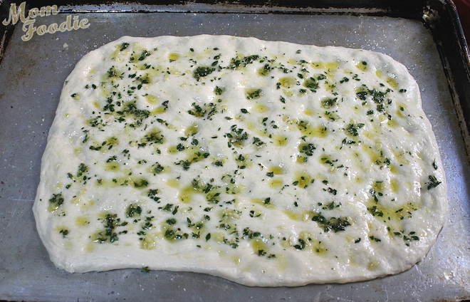 garlic bread focaccia recipe
