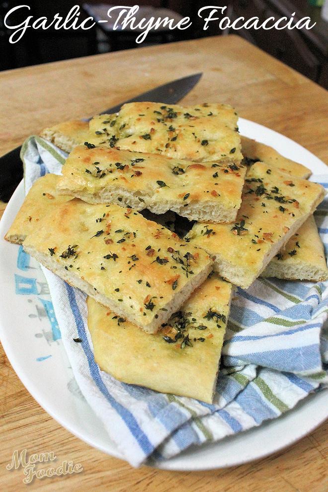 Garlic Focaccia Bread Easy Italian Focaccia Recipe