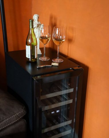 compact wine fridge