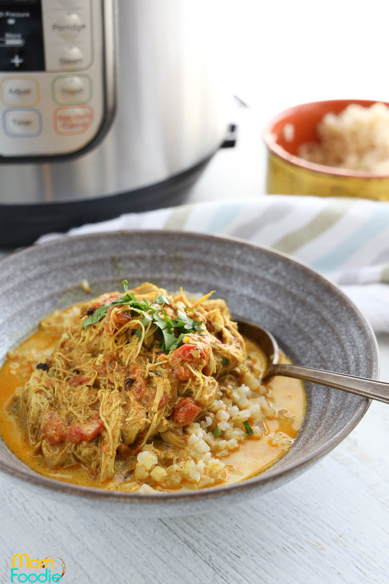 keto chicken curry instant pot