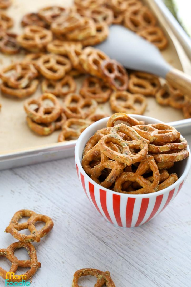 Ranch Seasoned Pretzels