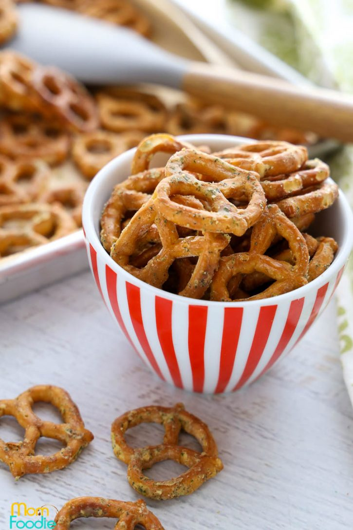 Ranch Pretzels