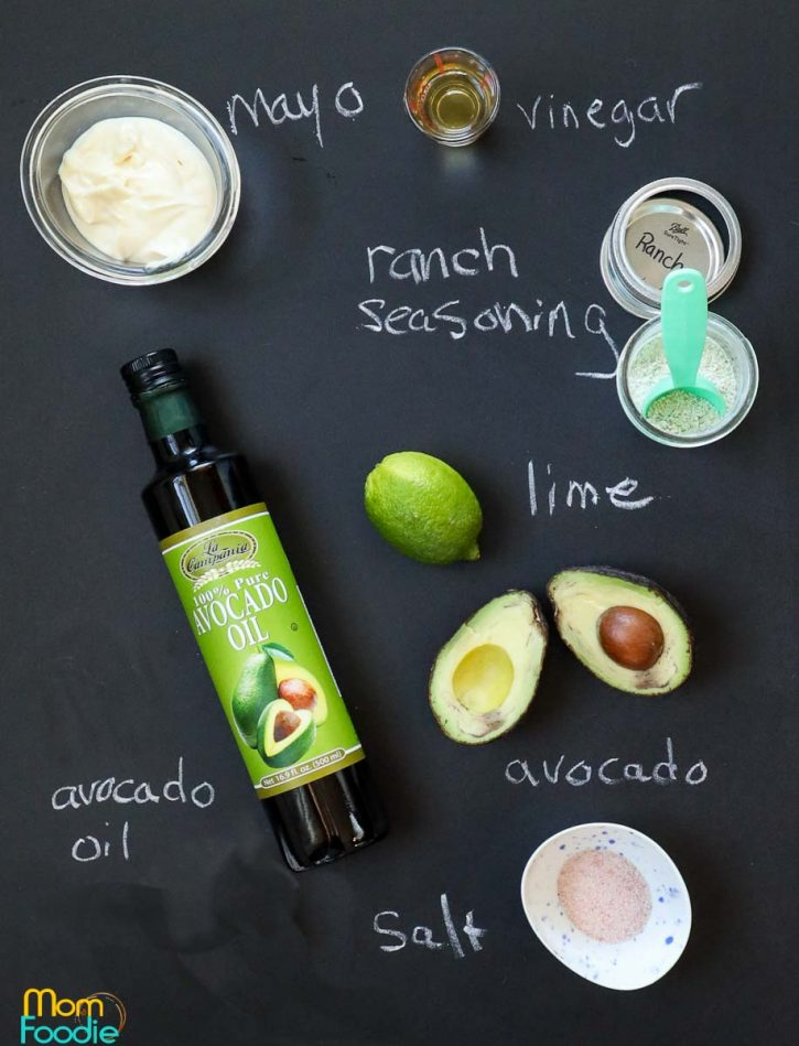 avocado lime ranch dressing ingredients