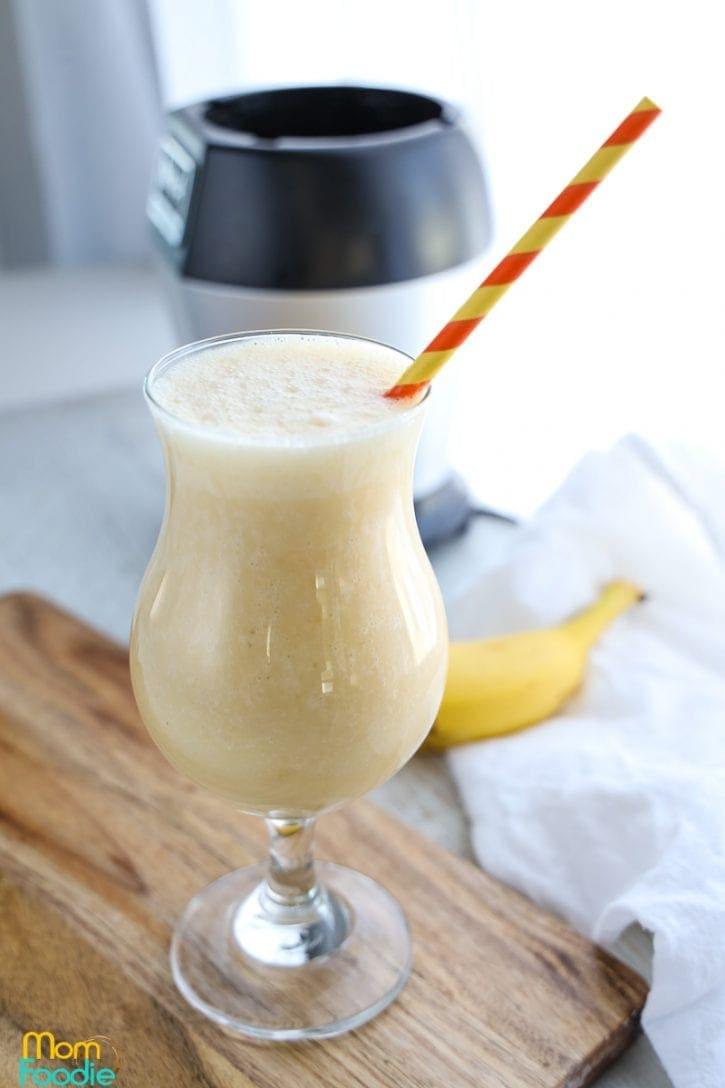 Peach Banana smoothie recipe