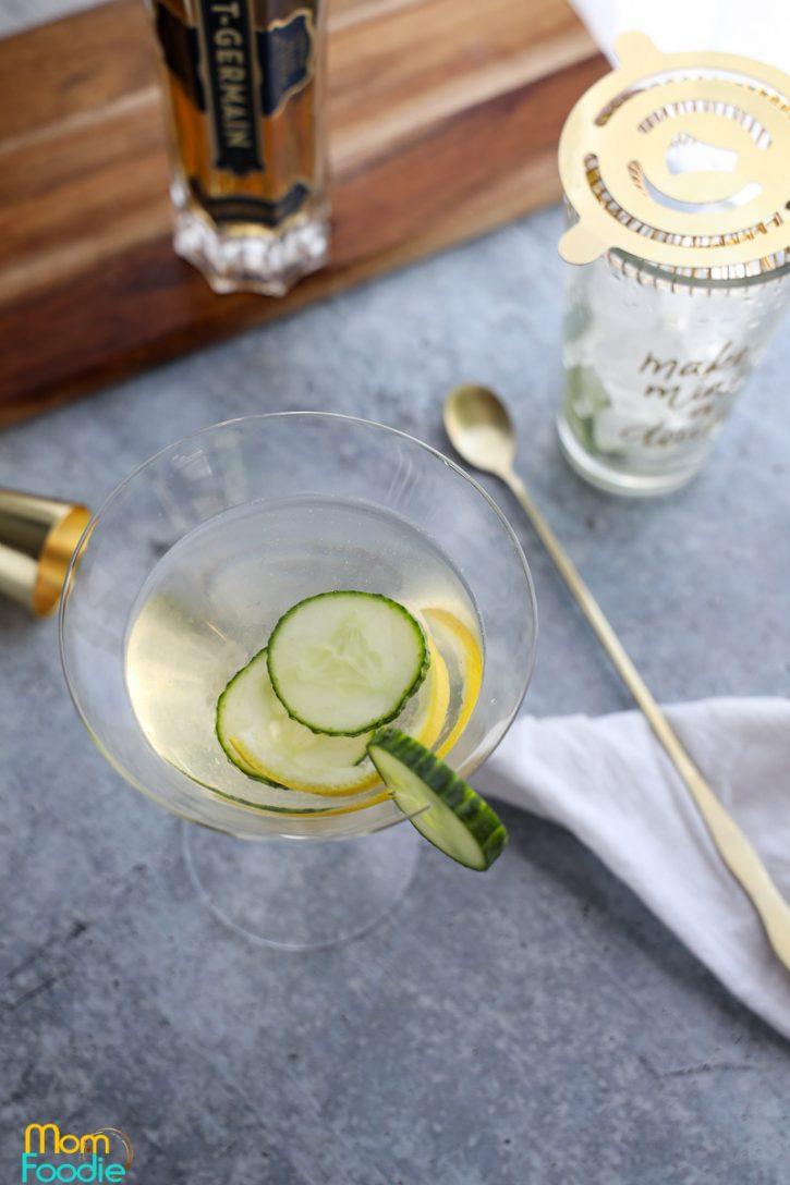 elderflower martini recipe