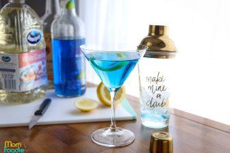 Blue cosmopolitan