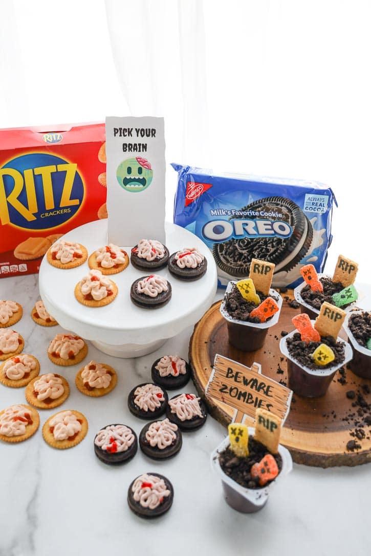 Zombie Party Snacks