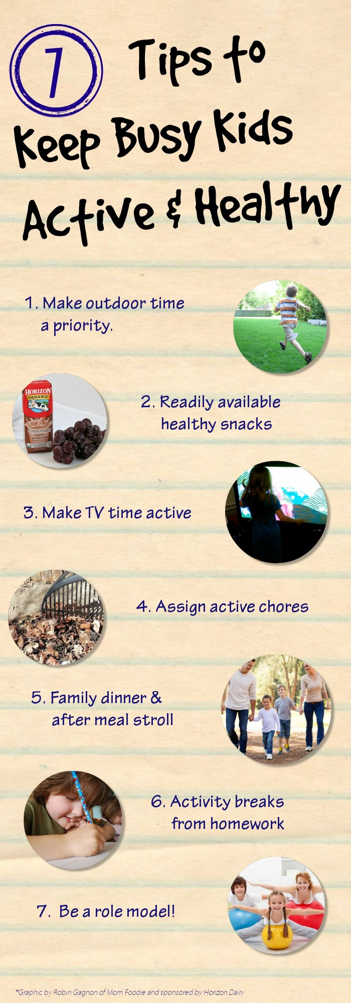 7 Tips to Keep Busy Kids Healthy and Active