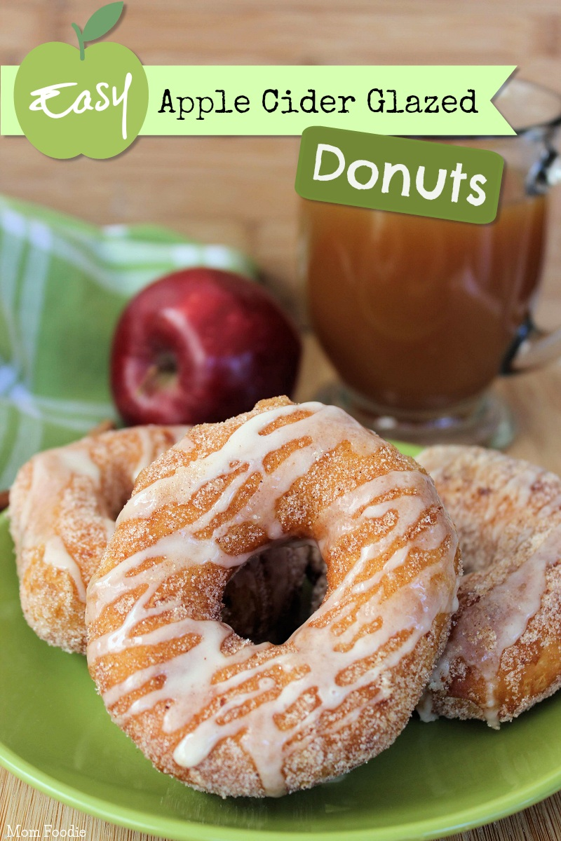 Easy Apple Cider Glazed Donuts