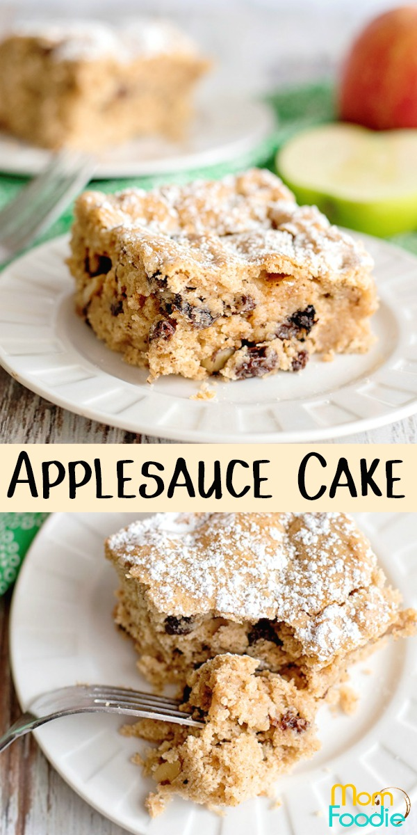 Applesauce Cake Pinterest