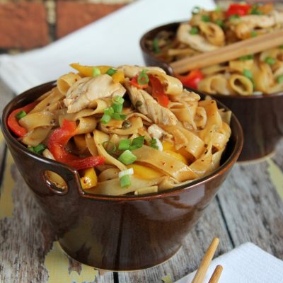 Asian Noodles with Chicken Recipe
