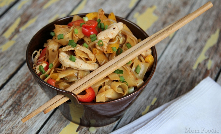 Asian Noodles with Chicken