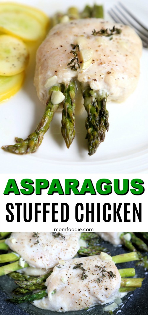 Asparagus Stuffed Chicken Breast Keto