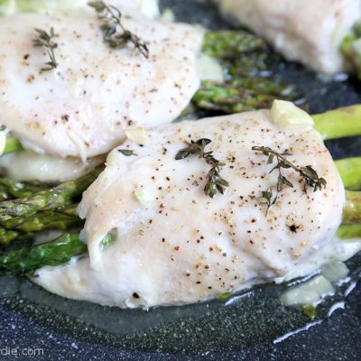 Asparagus Stuffed Chicken recipe