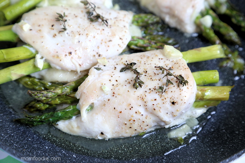 Asparagus Stuffed Chicken recipe