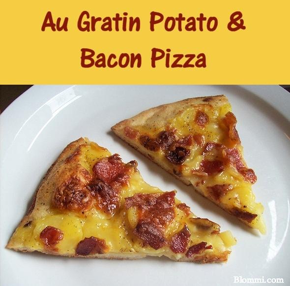 Au Gratin Potato & Bacon Pizza