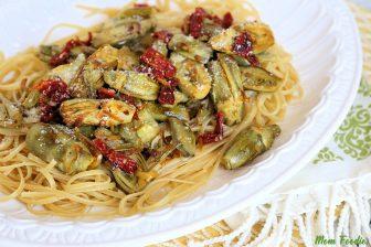 Linguini with Baby Artichokes Recipe