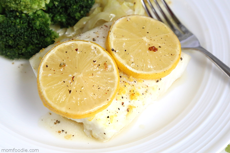 Lemon Baked Cod Easy Keto Recipe Mom Foodie