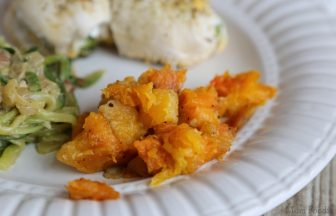 Baked Maple Butternut Squash recipe