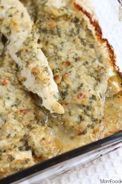 Baked Chicken Pesto Recipe