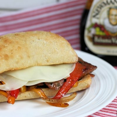Balsamic Sausage and Pepper Sandwich Recipe