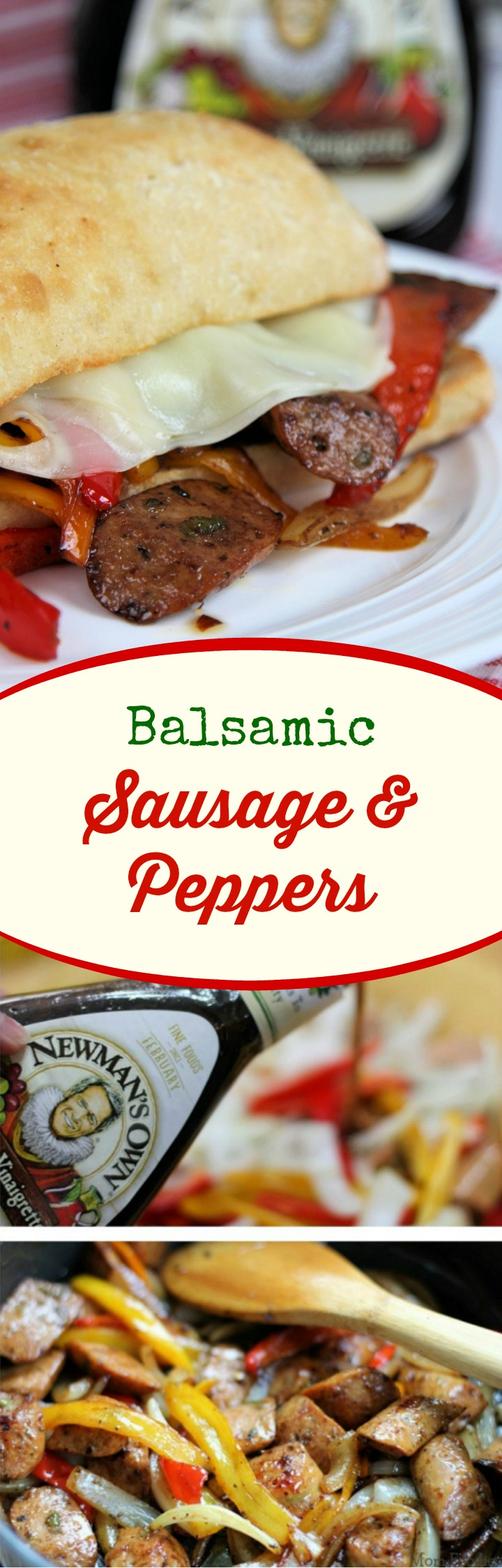 Balsamic Sausage & Peppers
