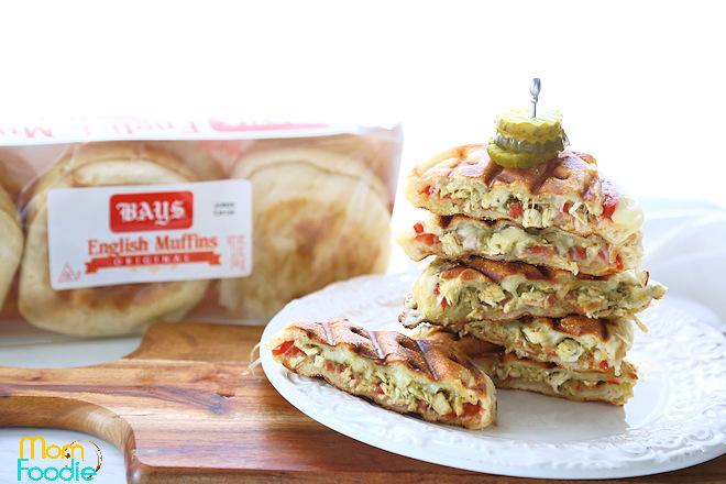 Bays english muffin panini