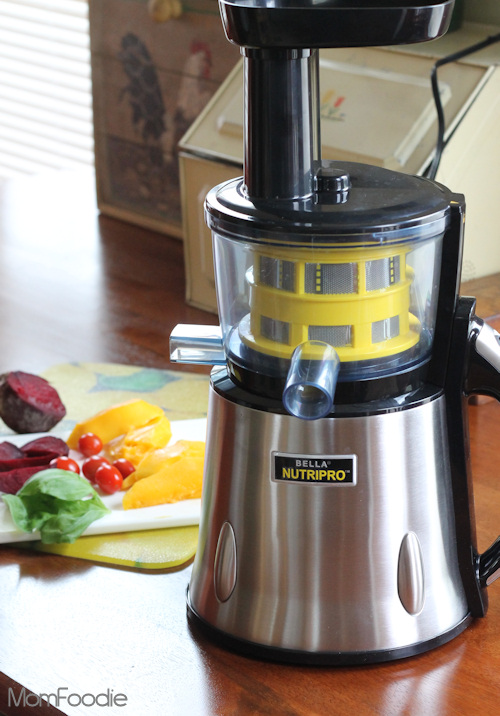 Bella Nutripro juicer review