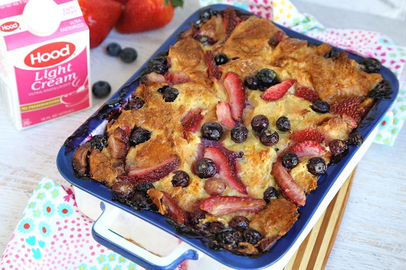Berries and Cream Breakfast Casserole recipe