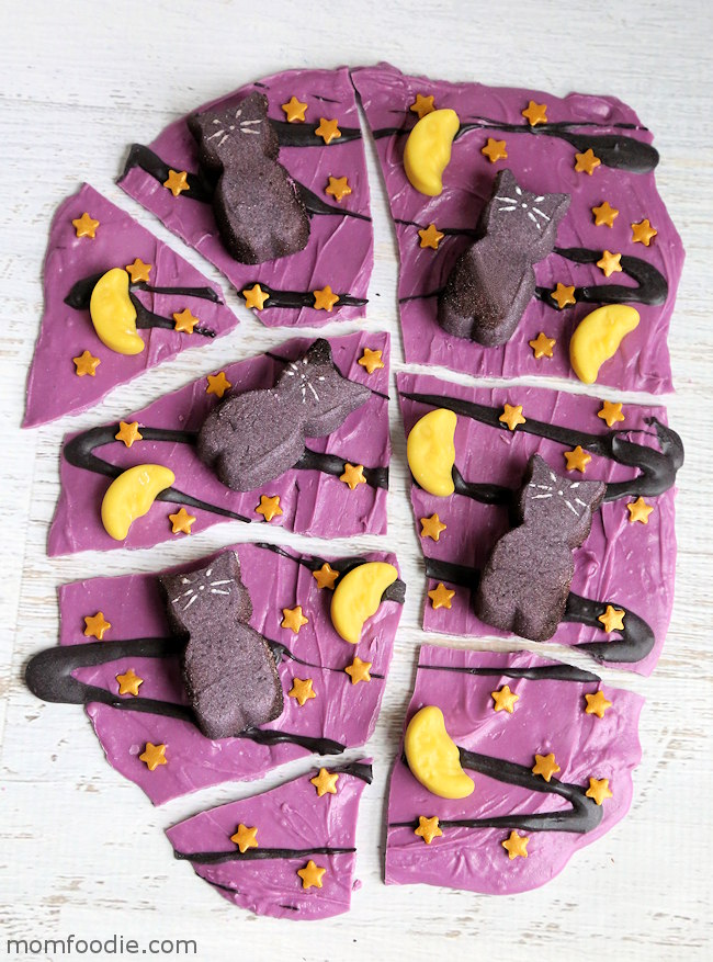 Black Cat Halloween Bark