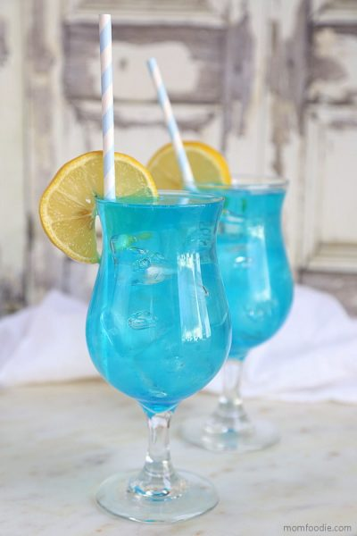 Blue Lagoon Cocktail –  Easy Blue Drink Recipe!