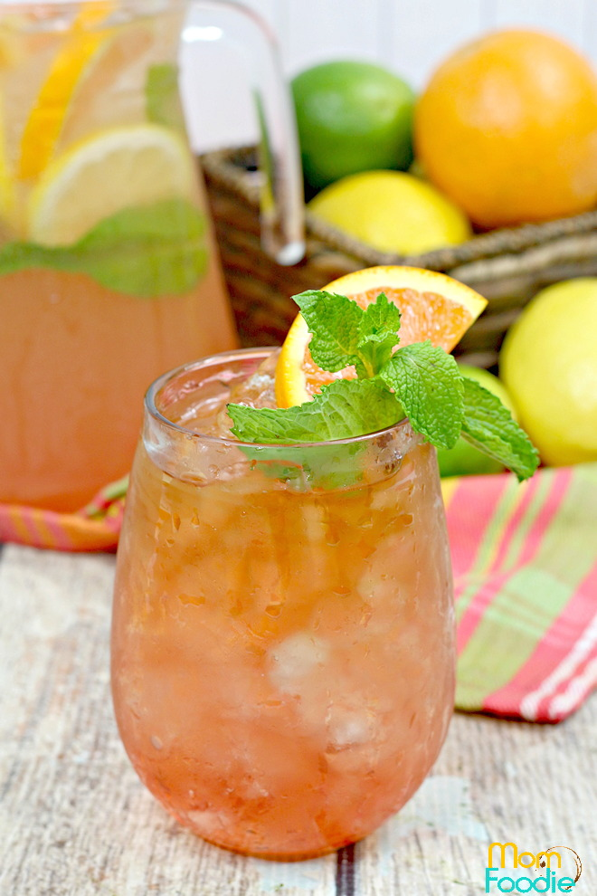 Bourbon Iced Tea