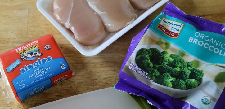 Broccoli Cheese Stuffed Chicken ingredients