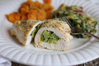 Broccoli Cheese Stuffed Chicken recipe
