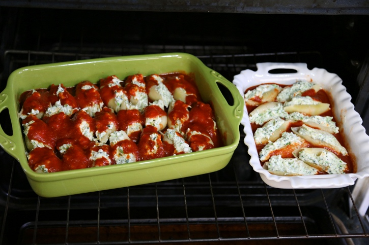stuffed shells in oven