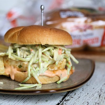 The Big Burma: Asian Fusion Chicken Burger Recipe