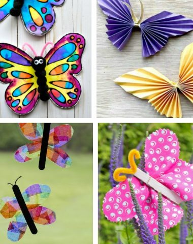Butterfly Crafts kids