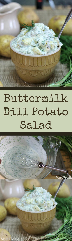 Buttermilk Dill Potato Salad Recipe