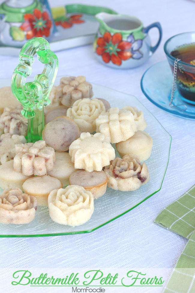 Buttermilk Petit Fours Recipe
