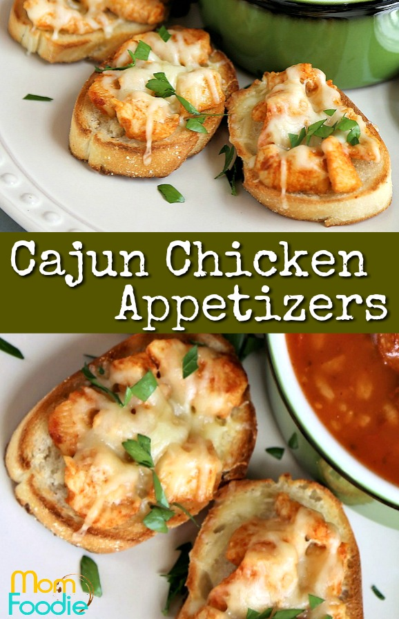 Cajun Chicken Appetizers pinterest