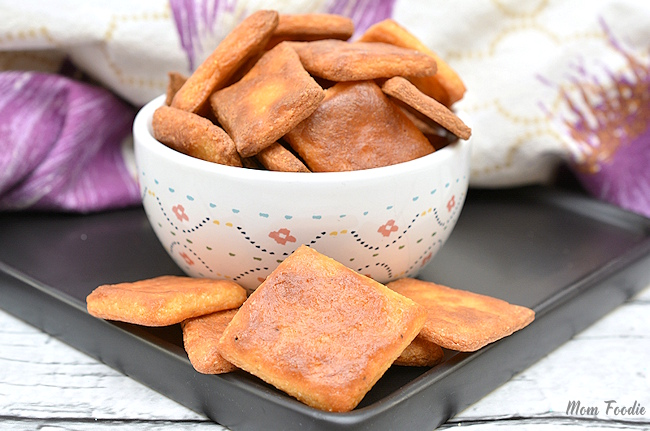 Cajun Keto crackers recipe