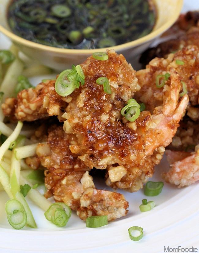 Candied Walnut Coated Shrimp
