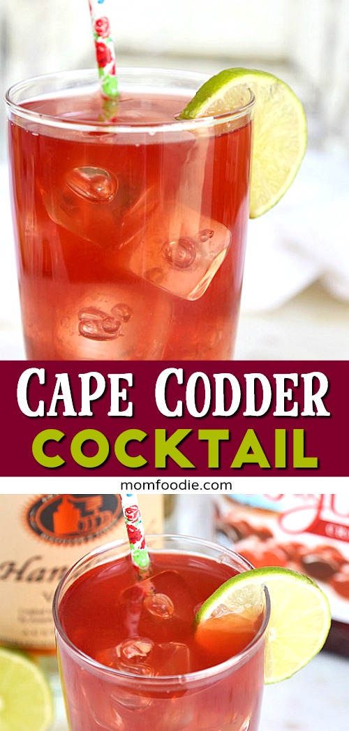 Cape Codder Cocktail Pinterest
